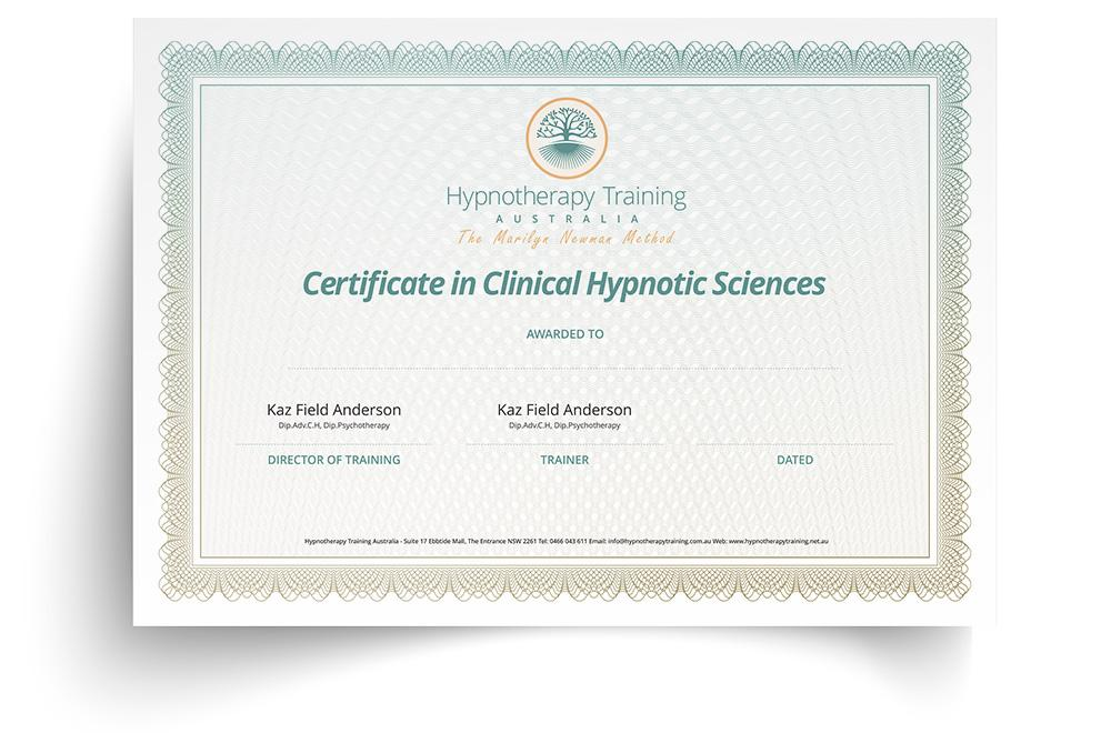 diploma in clinical hypnotic sciences